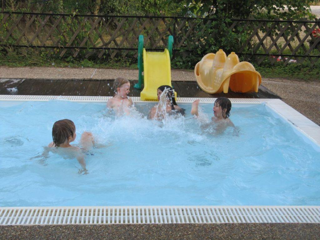 piscine chauffée vacances camping val de loire