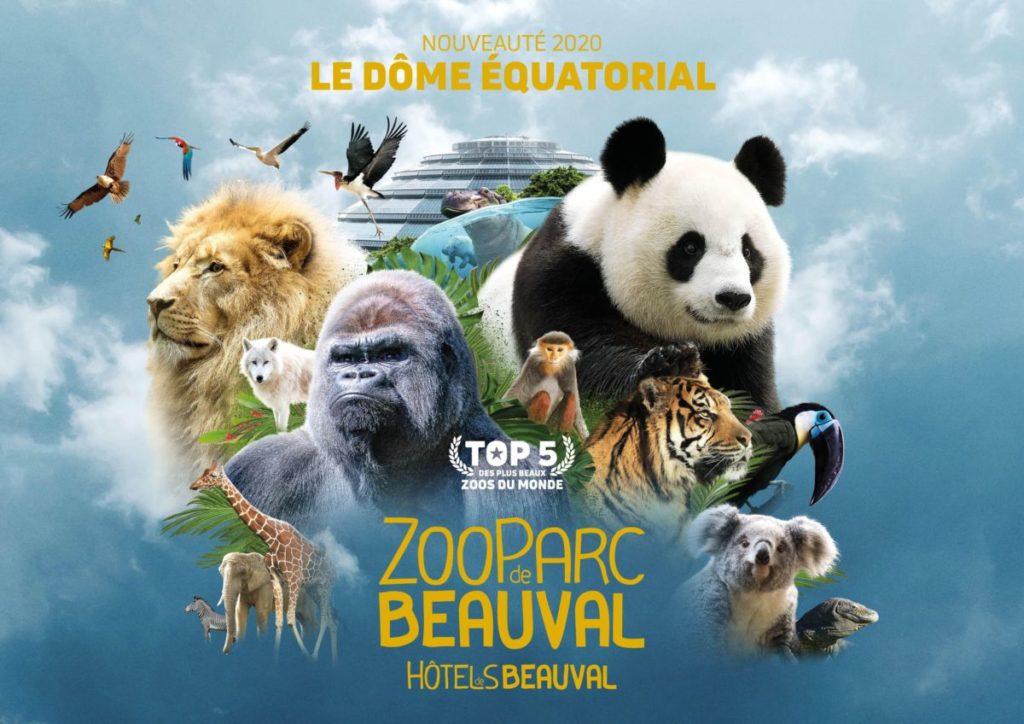 zoo parc de beauval saint aigner sur cher loir et cher chateaux de la loire camping proche de beauval